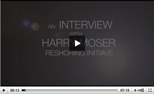 Harry Moser is interviewed by Pete Zelinski of MMS Online